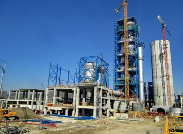 Línea Producción Cemento - Varna (Bulgaria) - CBMI (Sinoma)